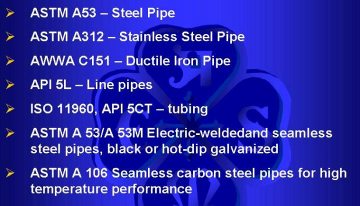 pipe STD