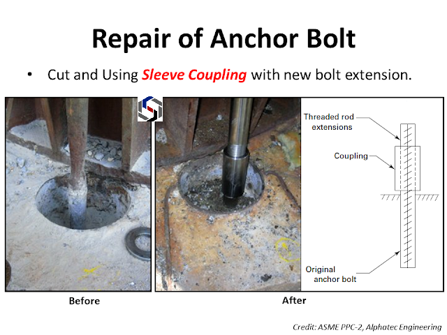 Anchor Bolt Repair Method Amarine