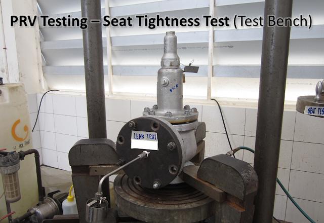 PRV seat leakage test workshop.png