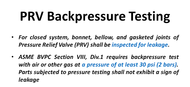 What is backpressure test of PRV.png